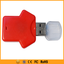 Cool Clothes Plastic Blue/Red/White USB Flash Drive 64gb