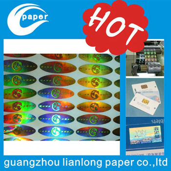 holographic ID card, 3d hologram stickers