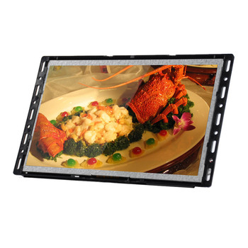 "Factory price advertising media 7"" LCD screen with push buttons"