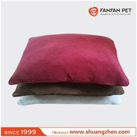 Luxury outdoor suede fabric dog bed pet mats