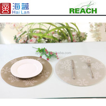 cup mat pad table protector pvc transparent table protector made in China