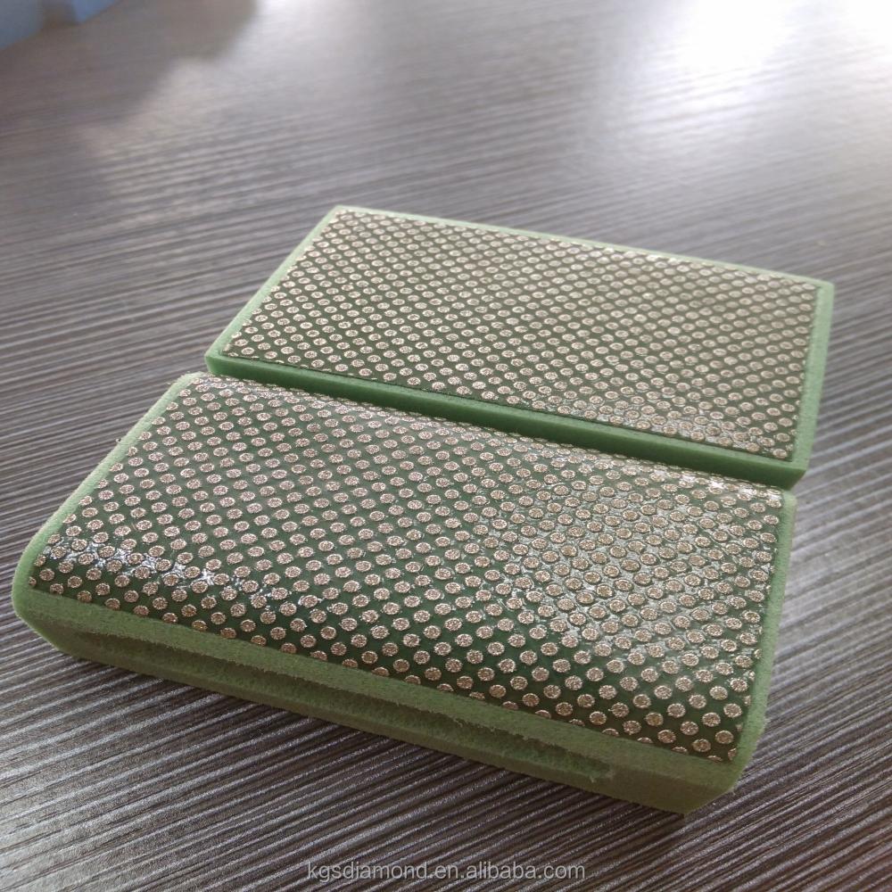 diamant kleine hand pad als protap messer tor fliese glas schleifen und polieren schleifwerkzeug. Black Bedroom Furniture Sets. Home Design Ideas