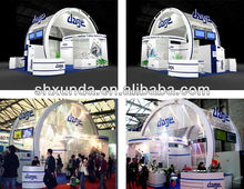 Double Deck/Two story Exhibition booth/Display stand 10'X10'