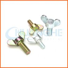 China manufacturer cabon steel wing screw