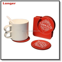 Promotional Sexy Item Round Custom drink coaster