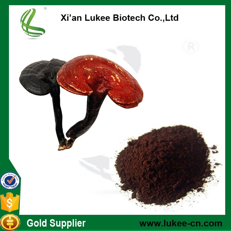 Lingzhi Mushroom Cracked Spore Oil extracted from Ganoderma lucidum, ganoderma lucidum extract