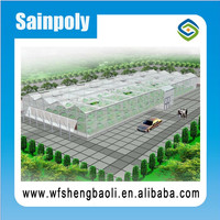 Qualified Agricultural Greenhouse With Ventilation And