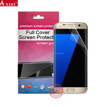 High quality invisible shield full cover screen protector for s7 edge mobile phone PDA