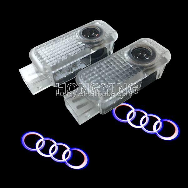 custom welcome courtesy shadow led car door logo laser projector light for all cars