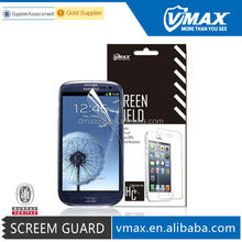 2014 Newest Color screen protector for Samsung galaxy s3 em/odm (High Clear)