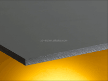 PVC rigid plastic board Extruded industrial hard pvc material