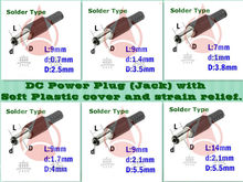 Multi assembly plug 1.3mm dc power plug