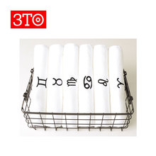China manufacturers wholesale 100% cotton constellation towels
