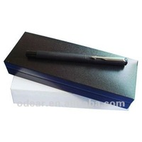 plastic gift pen box with paper sleeve