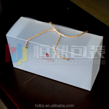 customized plastic folding wine glass packaging boxes
