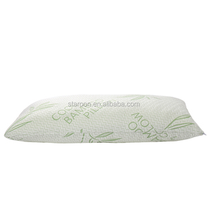 amazon hot sale king/ queen bamboo shredded memory foam pillow