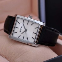 Rectangle Dial Japan Movt Stainless Steel Back Casual Man Watches Timepiece