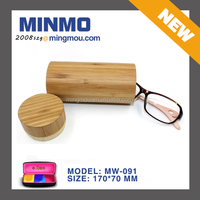 natural wood glasses case, round personalized glasses case, bamboo reading glasses case