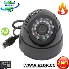 New Wireless USB Connector 24pcs ir leds CCTV Camera The Smallest Hidden Camera Brazil Store