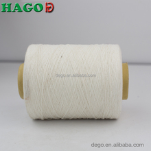 Ne6s regenerated raw white cotton polyester open end 100% cotton glove yarn manufacturer