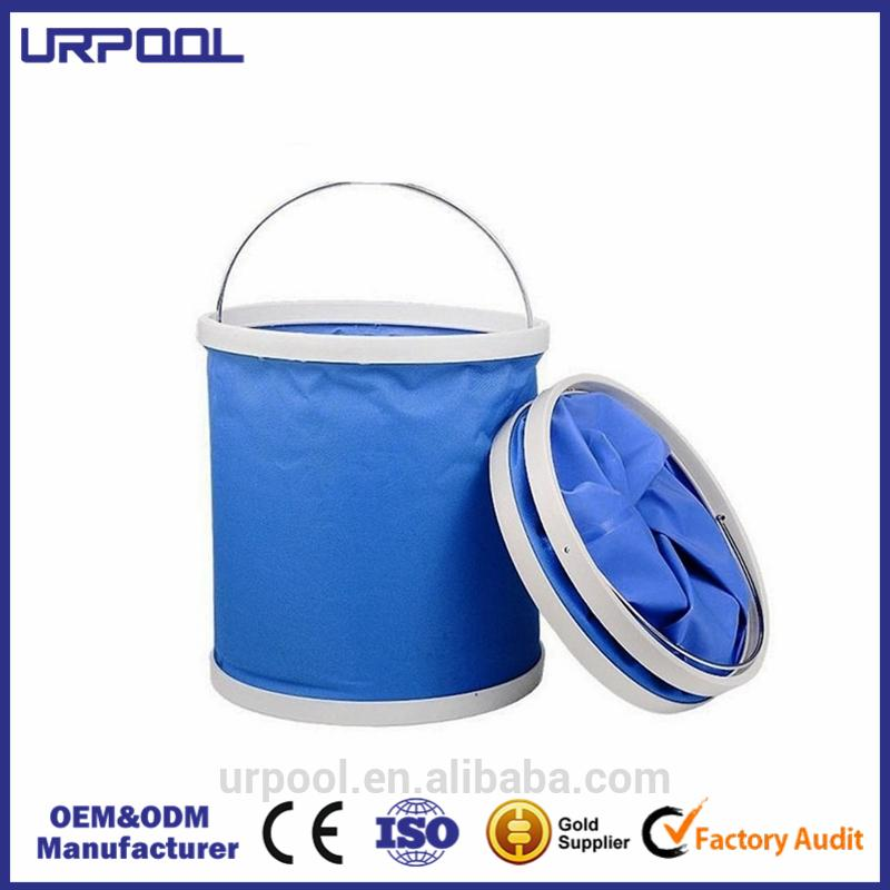 foldable water pail from china canvas water bucket camping hiking backpacking outdoor folding bucket