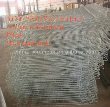 Welded Wire Mesh fence panels in 6gauge