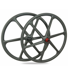 High quality super light 6 spokes tubeless XC 29er carbon fiber mountain bike wheels