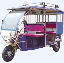 new model electric tricycle for Bangladesh passenger use