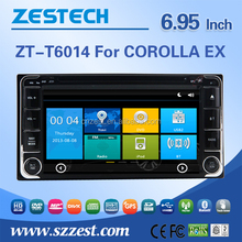 7 inch Touch screen car dvd Player dvd gps navigation radio audio system Bluetooth RDS 3G wifi For TOYOTA Vios 2004-2006