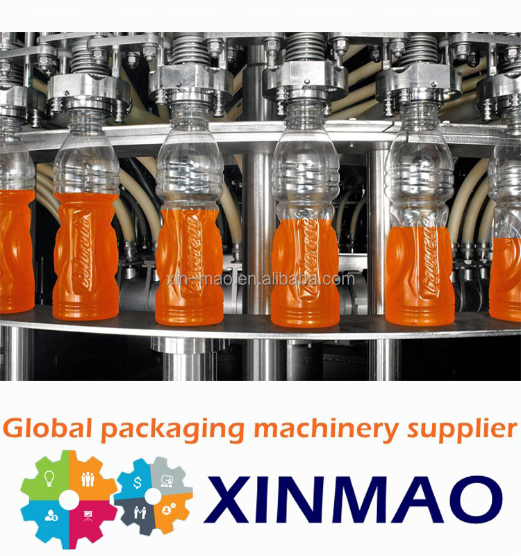 Automatic drink mixing /pet bottled hot filler