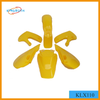 Motorcycle Plastic Cover Fairing kits for KLX110 plastic