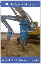 BLTB100 hydraulic breaker of chisel diameter 100mm for excavator attachment at reasonable price