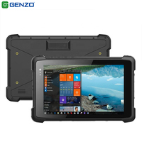 Genzo 8 Inch industrial tablet pc windows 10 Rugged tablet
