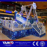 2016 China super fun new amusement park rides kids outdoor pirate ship ice snow for sale