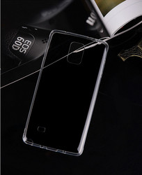 0.3mm Phone Cases Transparent Soft TPU Silicon Cover Case for Samsung Galaxy Note 4