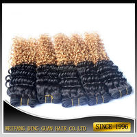 Fashionable antique indian gray remy hair extensions