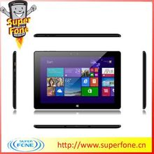 High resolution 800*1280 pixels 10.1 inch IPS screen 6600mah big battery double camera 2MP+5MP Win 8.1OS best tablet laptops