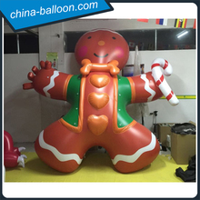 inflatable gingerbread man model/ 3m inflatable ginger man for Christmas parade