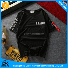 latest shirt designs for men Wholesale Plain T-shirts For Custom Printed Sleeve Tees Advertising