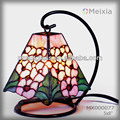 MX000077 tiffany style stained glass tiffany lampe for desk or table decor