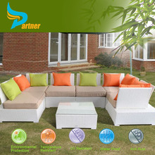 Brand New PE Rattan Hot Sale Luxury Colorful All Weather Garden Ridge Outdoor Bellagio Garden Furniture