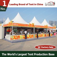 Square Promotion Pagoda Display Tent 5x5m with Logo Printing