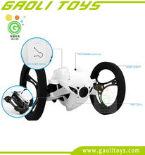 Mini Drone Jumping Sumo White Controlled Robotic Jumping Car With Music - Jump & Roll