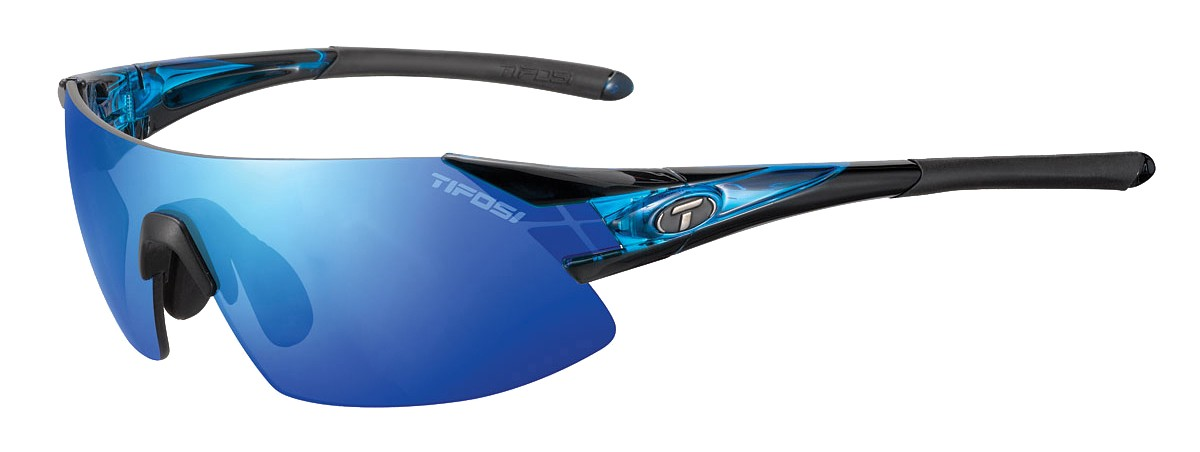 Tifosi Podium XC, Crystal Blue All-Sport Interchangeable Sunglasses
