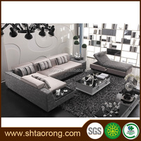 royal furniture L shape luxury living room sofas TRSO-865