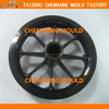 2015 plastic vehicle carriage wheel mould for toy car (good quality)