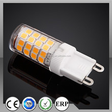 CRI 90 PF0.8 high quality G9 LED with TUV's CE,ETL,SAA,PSE