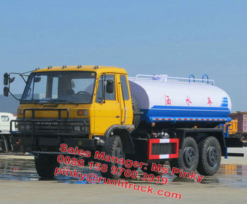 Off Road 6*6 Dongfeng Water Well Trucks 6000Litres