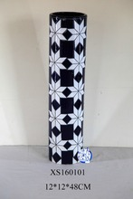 Chinesse hand-painted high quality ceramic/porcelain decoraration flower tall vase for home decor