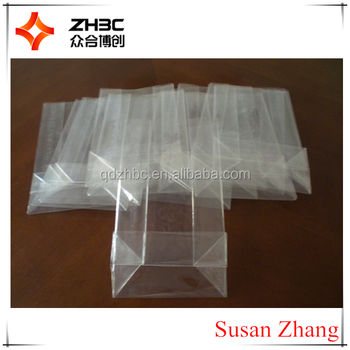 clear plastic square block bottom style cellophane sweet bag